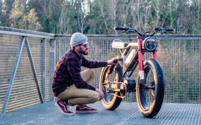 Le Cafe Racer as an E-bike