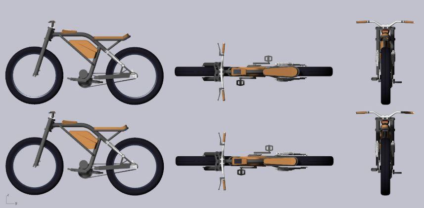 2020 : lancement du vélo Le Cafe Racer
