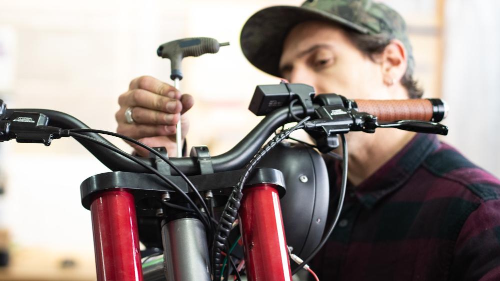 Un vélo custom