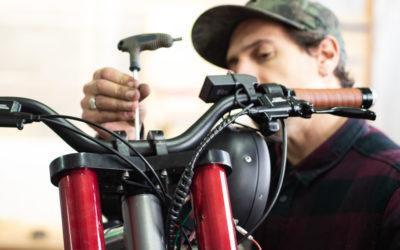 A custom bike