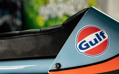 Le Cafe Racer version Gulf