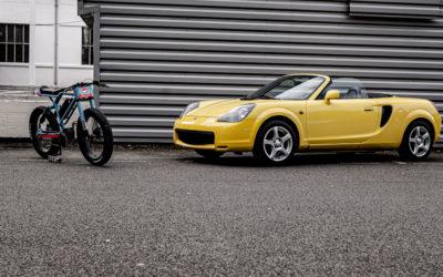 Aevon Bikes et la passion voitures